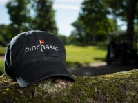 Pinchaser Fitted Cap – Black